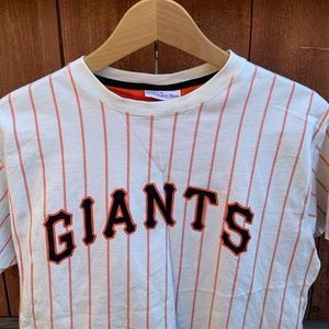 Vintage Mitchell and Ness SF Giants Tee